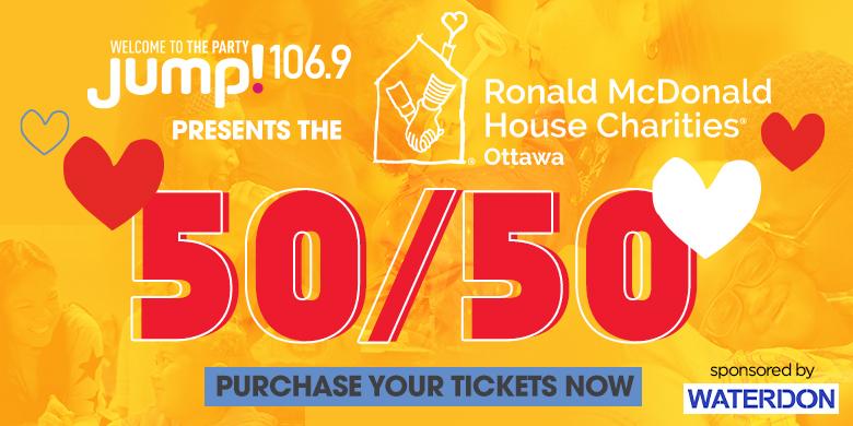 Ronald McDonald House Charities Ottawa 50/50
